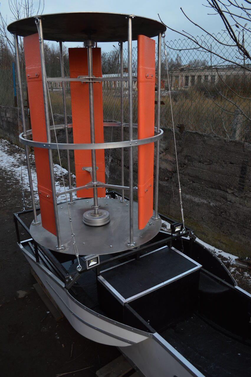 Вертикальноосевой ветрогенератор 10 кВт SAV